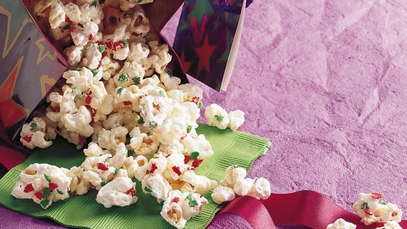 Snowflake Popcorn