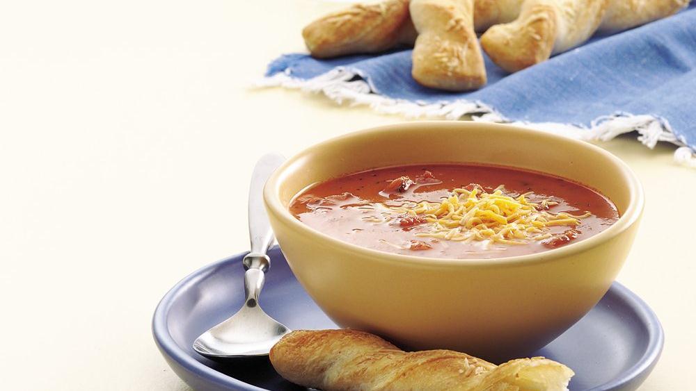 Easy Chunky Tomato Soup