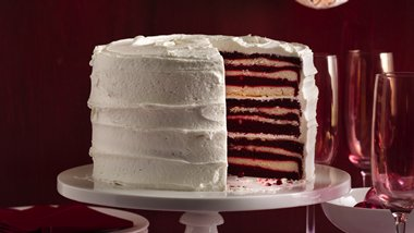 18 Layer Red Velvet Cake