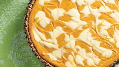 Pumpkin Cheese Tart
