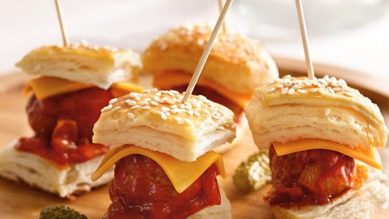 Meatball Mini Burgers