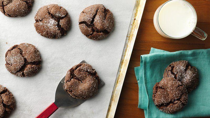 Cake Mix Chocolate Cookies