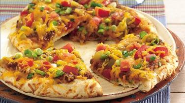 Easy Grilled Nacho Pizzas