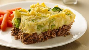Potato-Topped Meatloaf Casserole