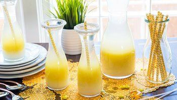 Coconut Mimosa Party Punch