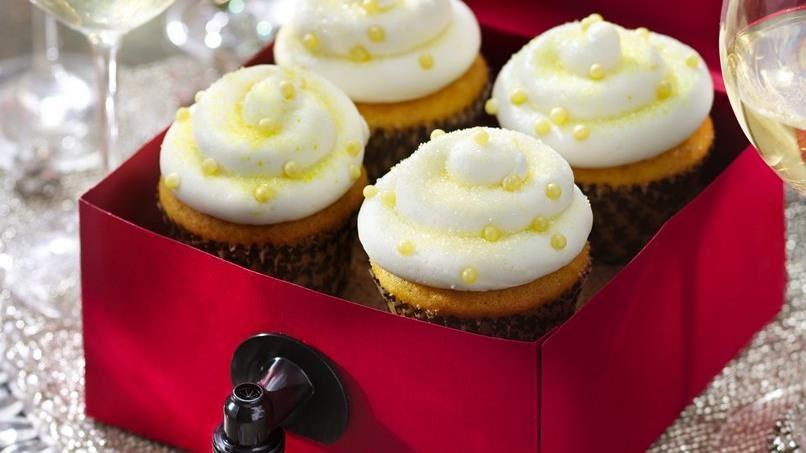 Sauvignon Blanc Wine Cupcakes