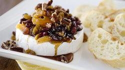 Brie with Dried Fruit