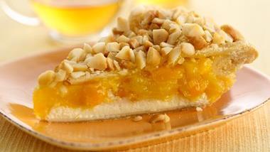 Tropical Pineapple Mango & Cream Pie
