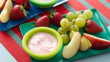 Fruit Tapas with Fruity Go-GURT® Dip