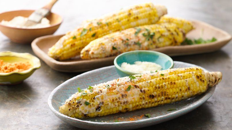 Grilled Elote (Mexican Street Corn)