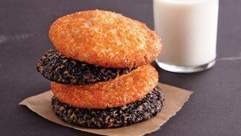 Big Halloween Sugar Cookies
