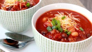 Stout and Spicy Sausage Chili