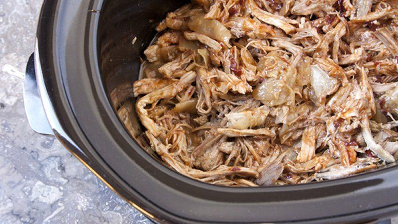 Slow-Cooker Pulled Pork with Chipotle, Honey and Lime