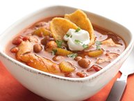 Slow-Cooker Mexican Chicken Chili