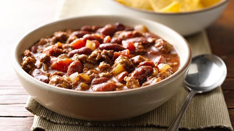 Chili con Carne recipe from Betty Crocker