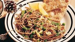 Lemon-Basil Vegetables and Noodles