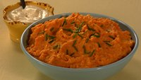 Mashed Sweet Potatoes with Moroccan Spices