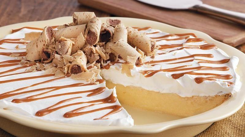 Dulce de Leche Banana Rum Pie