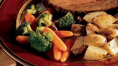 Carrots and Broccoli with Orange Browned Butter
