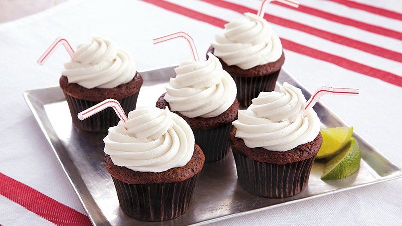 Rum and Cola Cupcakes