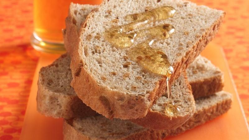 Honey-Whole Wheat Loaf