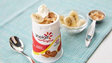 Banana Caramel Pudding Yogurt Cup