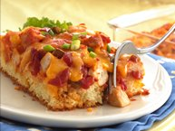 Salsa Chicken Fiesta (Cooking for 2)