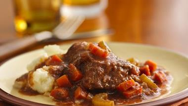 Heartland-Style Smothered Steak