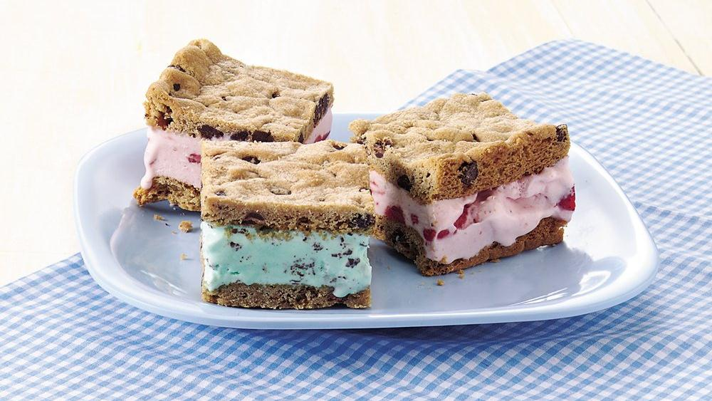 Ice Cream Sandwich Bars