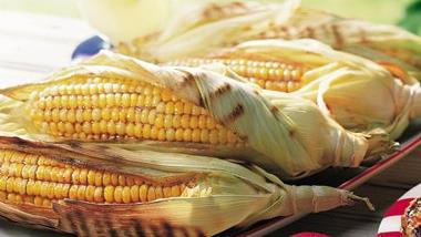 Grilled Spicy Corn