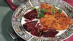 Beets in Sweet Orange Sauce