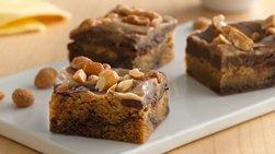 Peanut Butter-Fudge Bars