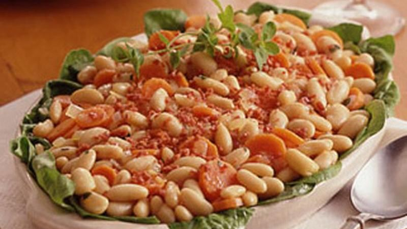 Warm Tuscan Bean Salad