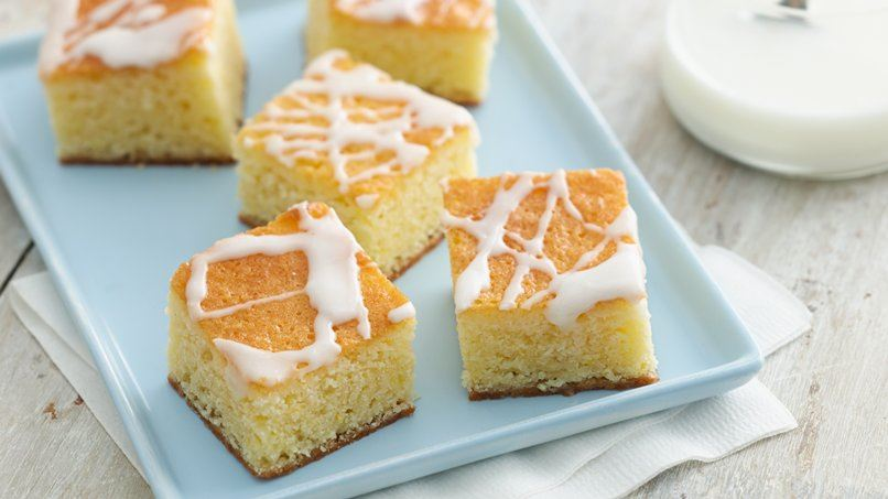 Lemon-Butter Pound Cake Bars