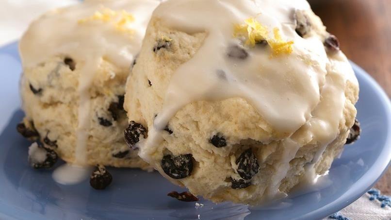 Lemon-Currant Cream Scones