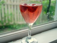 White Wine-Strawberry Sangria