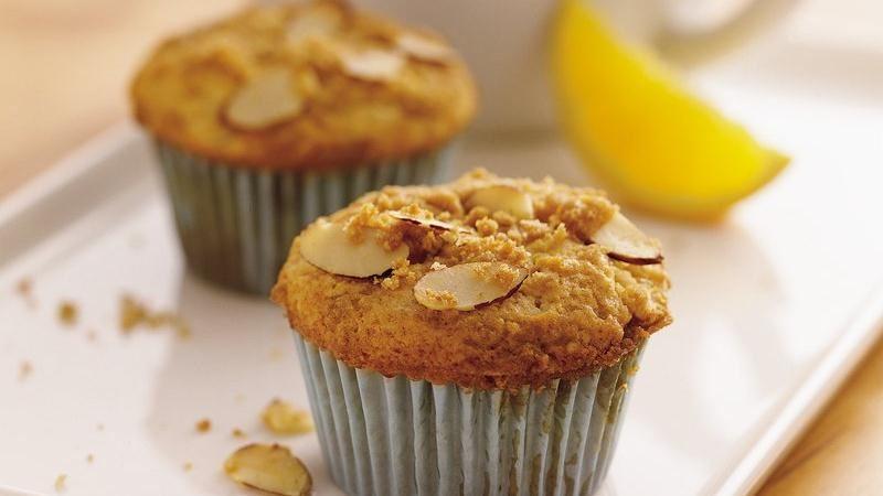 Orange-Almond Streusel Muffins