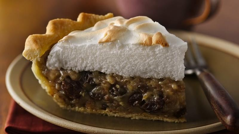 Sour Cream-Raisin Pie