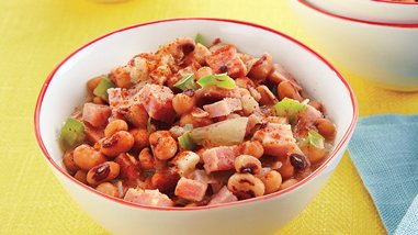 Slow-Cooker Black-Eyed Peas and Ham