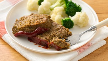 Veggie-Filled Meatloaf