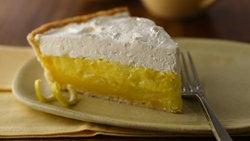 Pineapple-Lemon Layered Pie