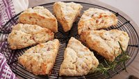 Rosemary, Pear and Asiago Scones