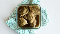 Slow-Cooker Pesto Chicken Thighs