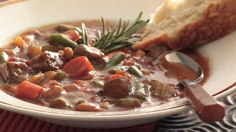 Slow-Cooker Italian Beef Stew