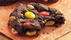 Cake Mix Peanut-Fudge Cookies