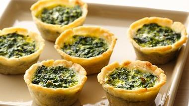 Gluten-Free Spinach Mini Quiches