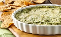 Cheesy Spinach and Cauliflower Dip