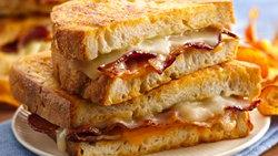 Beer Battered Grilled Cheese Sandwiches