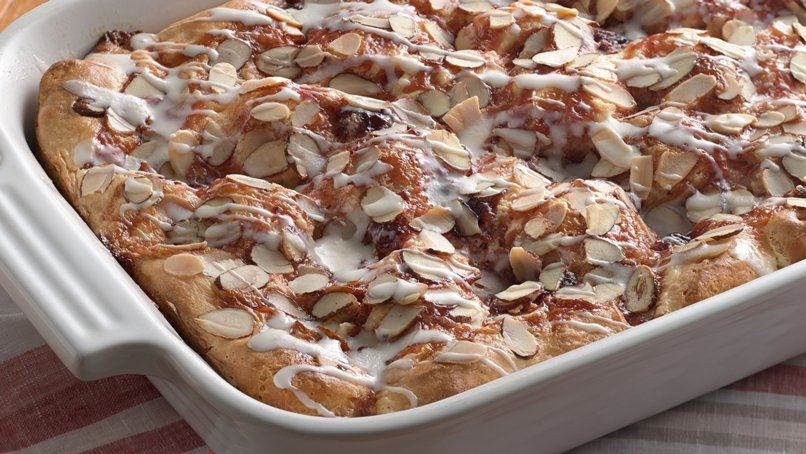 Cherry Almond Kolache Bake
