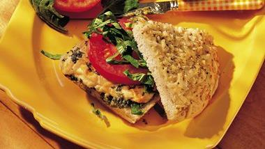 Chicken-Pesto Sandwiches